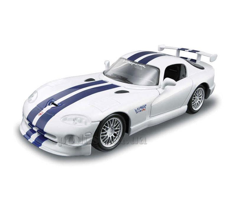 Сборная автомодель 1:24, Dodge Viper GT белый Maisto