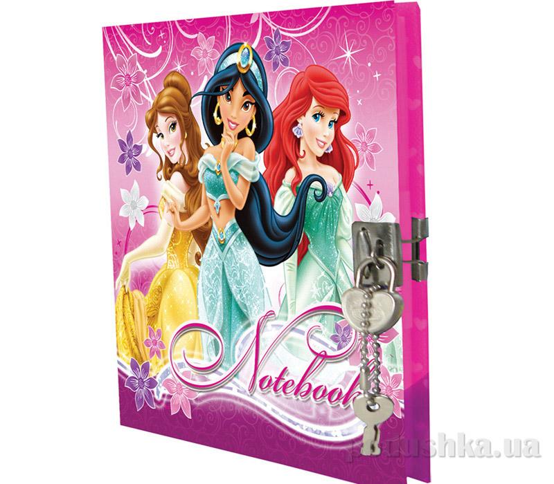 Секретный дневник с замком-сердечком Princess PRAA-US1-A-4805-W