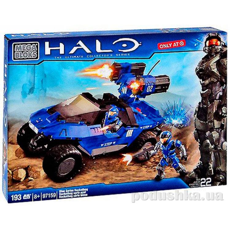 Серия Halo Набор конструктора Автомобиль и солдаты UNSC 97159 Mega Bloks