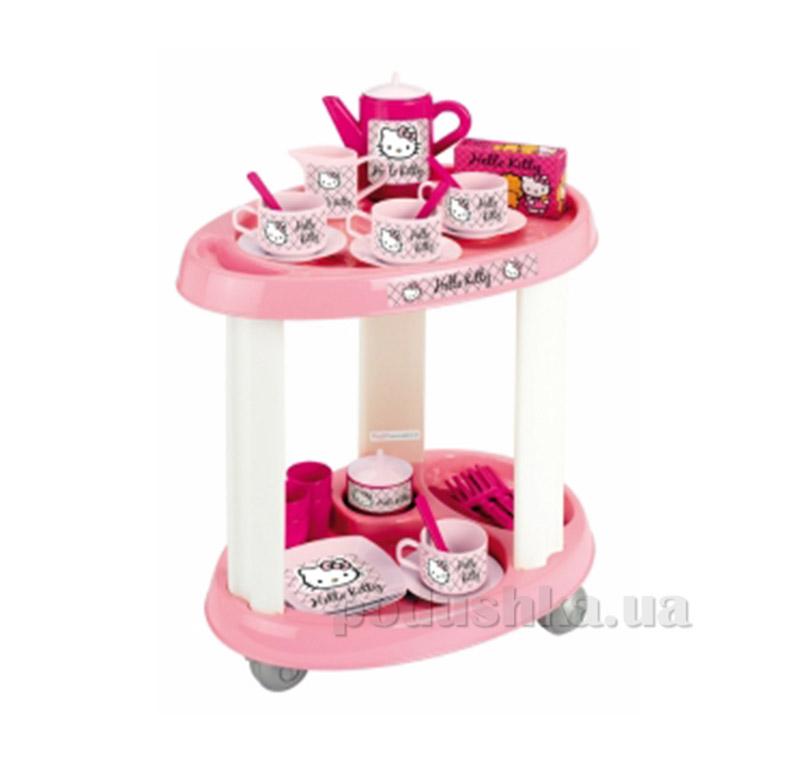 Сервировочный столик с посудой Hello Kitty 001604