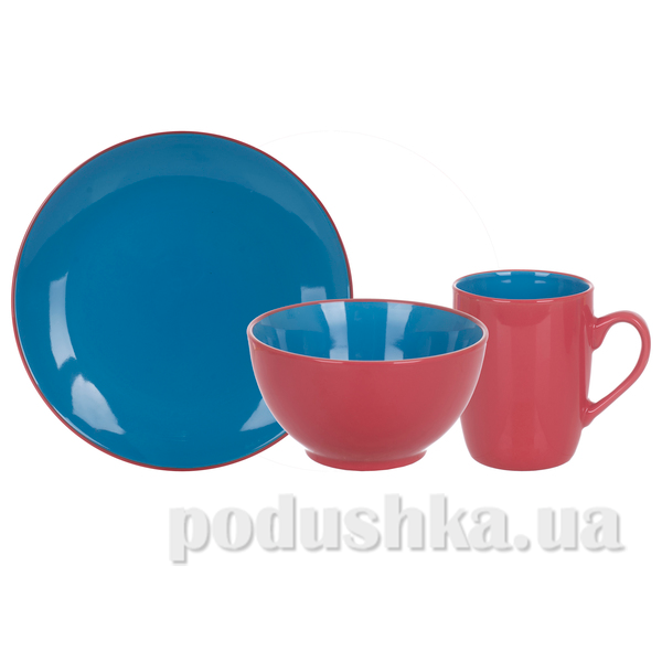 Набор для завтрака Limited Edition Bicolor Blue 3пр. Luminarc MB16S415