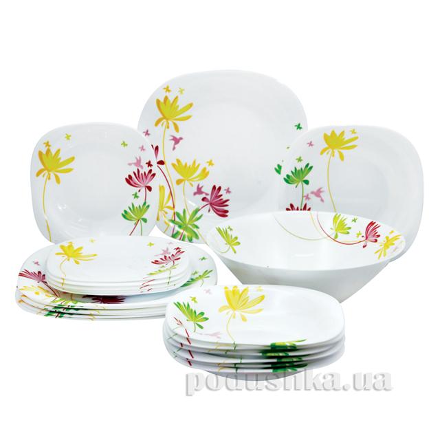Сервиз столовый Luminarc CRAZY FLOWERS 19 предметов