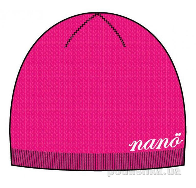 Шапка демисезонная для девочки Nano 200 TU F14 Virtual Pink