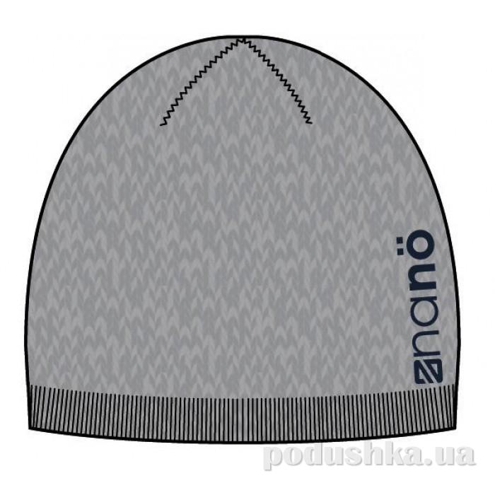 Шапка демисезонная для мальчика Nano 201 TU F14 Grey