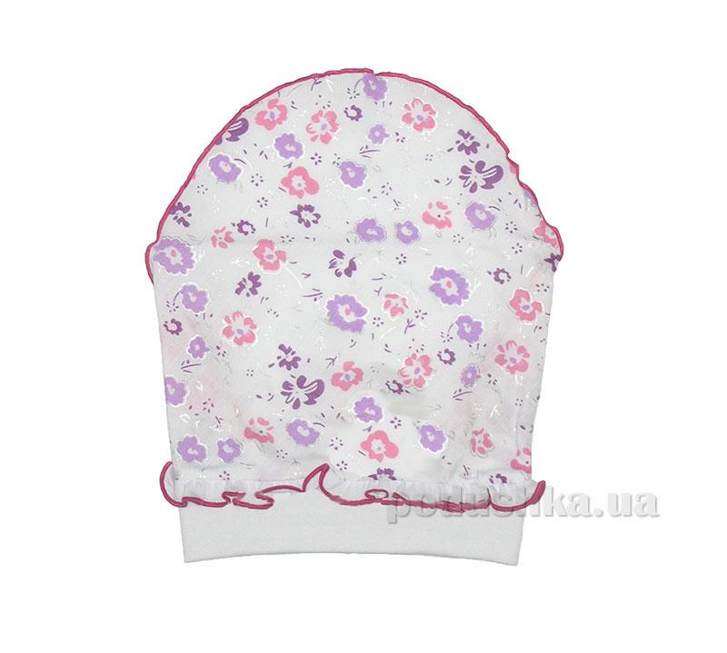 Шапочка-платочек Мамина мода для девочек