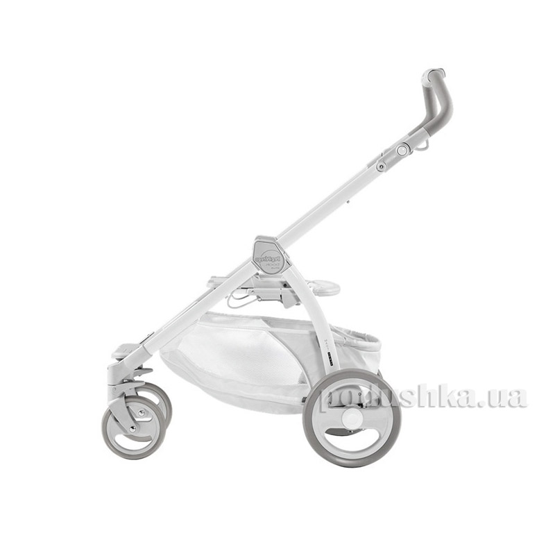 Шасси для коляски Book Plus PURE белая Peg-Perego ICBO0000GVL54