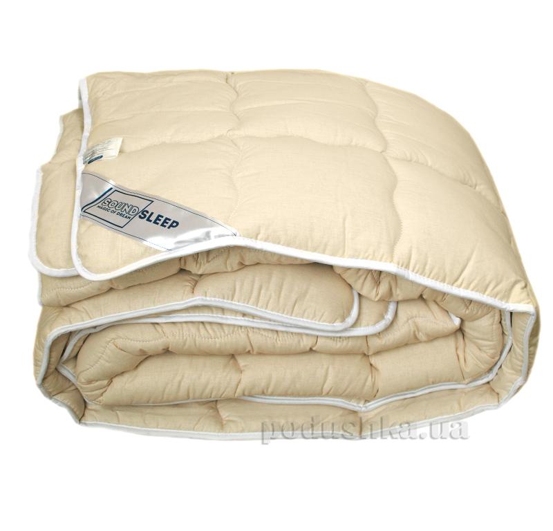 Шерстяное одеяло в бязи SoundSleep Fantastic dreams однотонное
