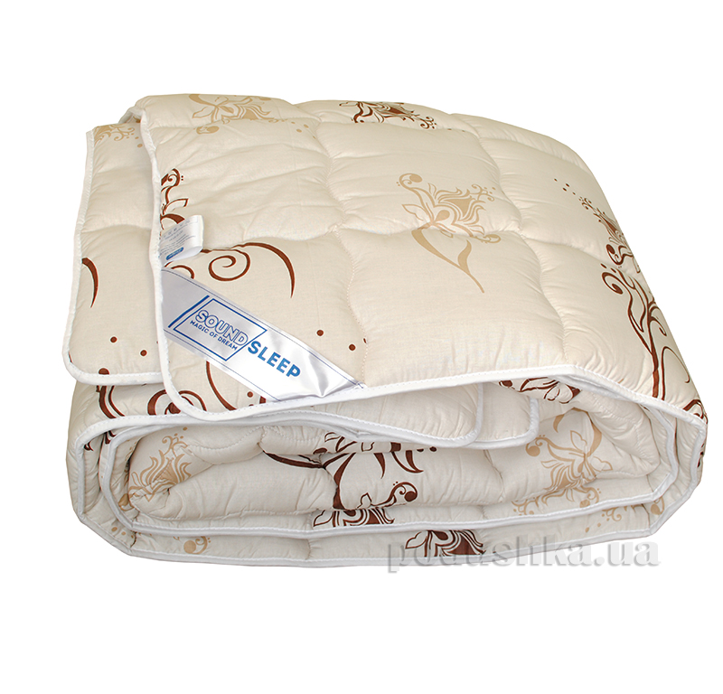 Шерстяное одеяло в бязи SoundSleep Weave dreams с узором