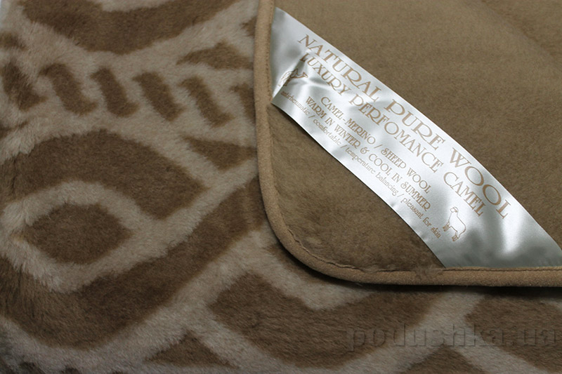 Шерстяное одеяло-покрывало Merkys Barocco Cambar-3