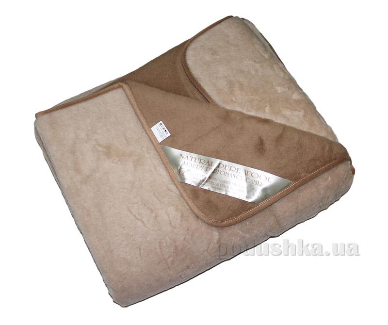 Шерстяное одеяло-покрывало Merkys Kamilie КАМ-1