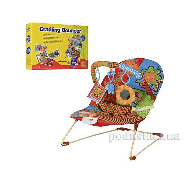 Шезлонг-качалка детский BR 20886-1 Jambo 08220886