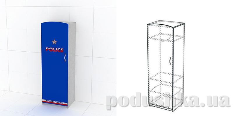 Шкаф Police КМ-SH-01 Эдисан