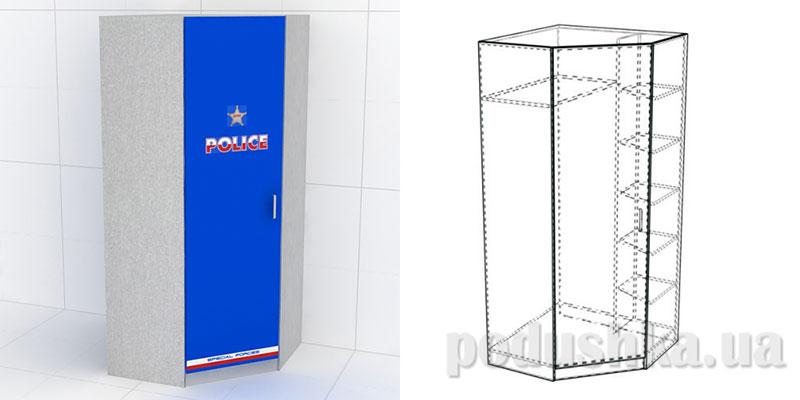 Шкаф Police КМ-SH-04 Эдисан