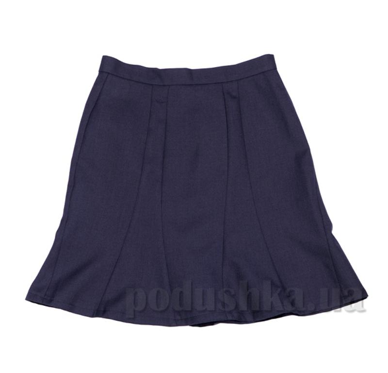 Школьная подростковая юбка Юность 784-06 синяя