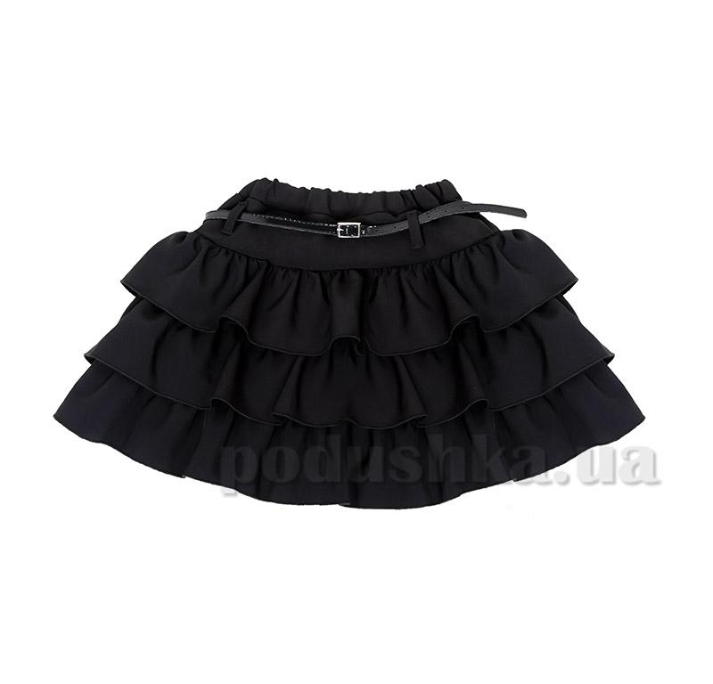 Школьная юбка для девочки Purpurino 224201 черная