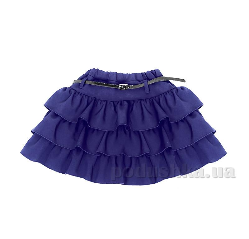 Школьная юбка для девочки Purpurino 224202 синяя