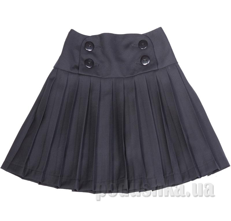 Школьная юбка черная Юность 262 с кокеткой
