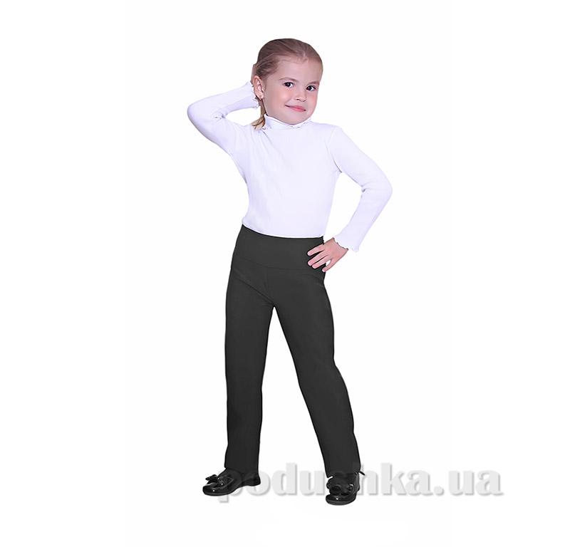 Школьные брюки для девочки Purpurino 242201 черные
