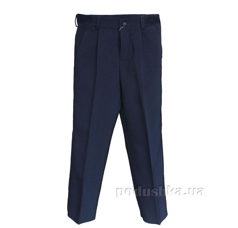 Школьные брюки для мальчика Промiнь ВД-0917 синие