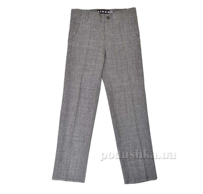 Школьные брюки Timbo Bunny B026084 светло-серые