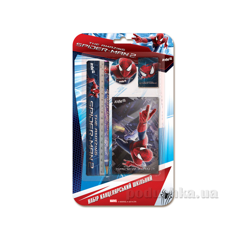 Школьный канцелярский набор Kite Spider Man SM14-147K