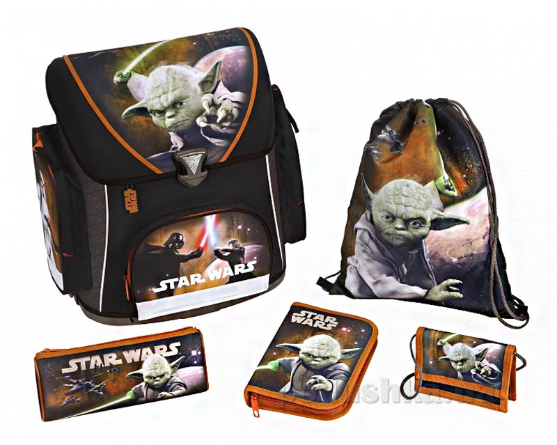 Школьный набор Scooli Звездные войны с наполнением SW13825