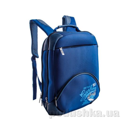 Школьный ортопедический рюкзак ZiBi Pochette Surfing ZB14.0022BL