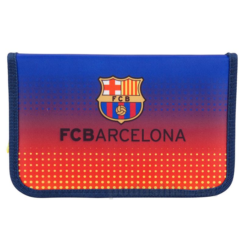 Школьный пенал для мальчика Kite 622 BC-2 FC Barcelona
