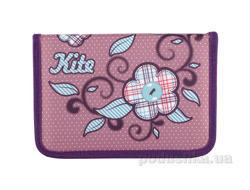 Школьный пенал Kite Flower Power 622-1 для девочек