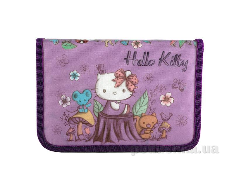 Школьный пенал Kite Hello Kitty 622-1 для девочек