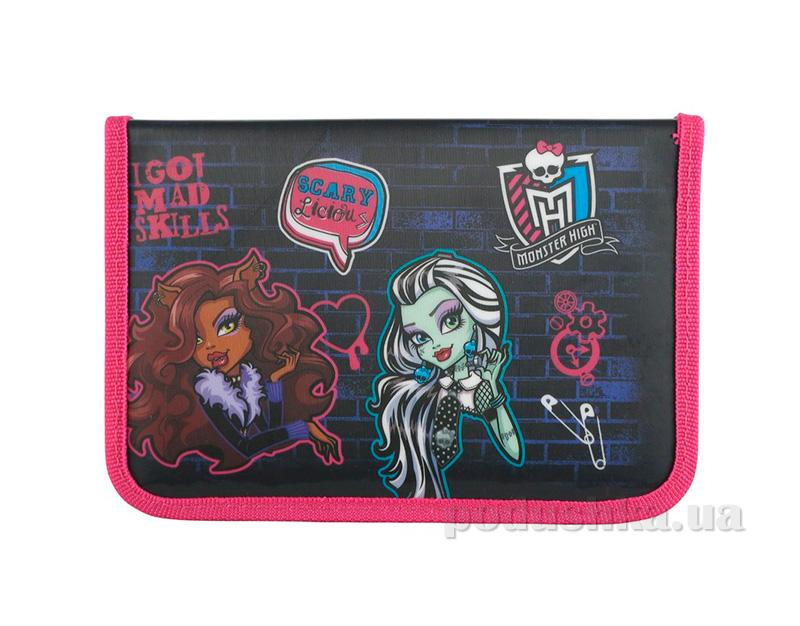 Школьный пенал Kite Monster High 621-1 для девочек