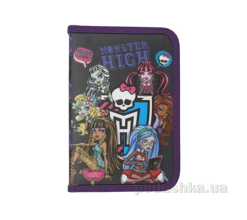 Школьный пенал Kite Monster High 622-3 для девочек
