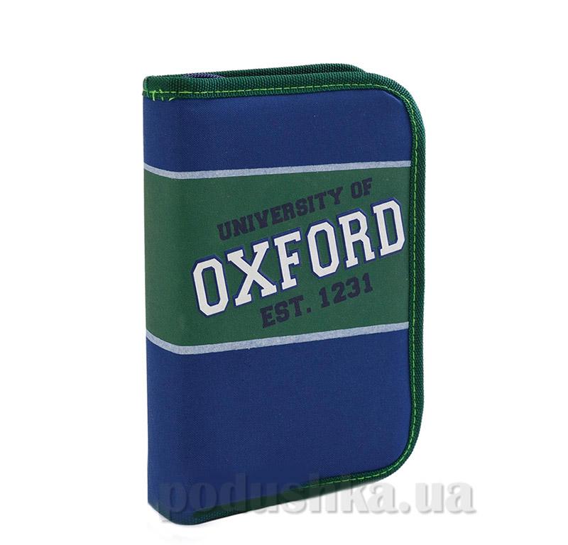 Школьный пенал твердый одинарный Oxford 1 Вересня 530985