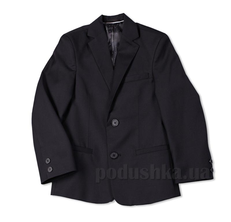 Школьный пиджак с прорезными карманами Юность 316 черный