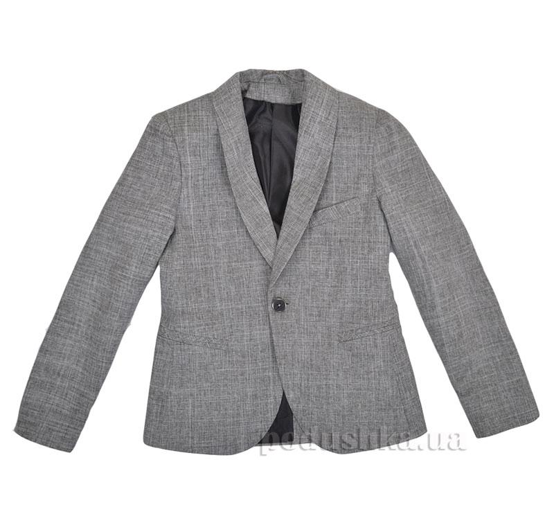 Школьный пиджак Timbo Bunny P010188 серый