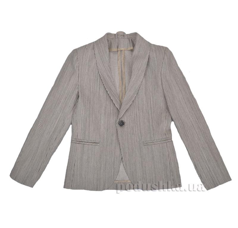 Школьный пиджак Timbo Manny P026046 серый