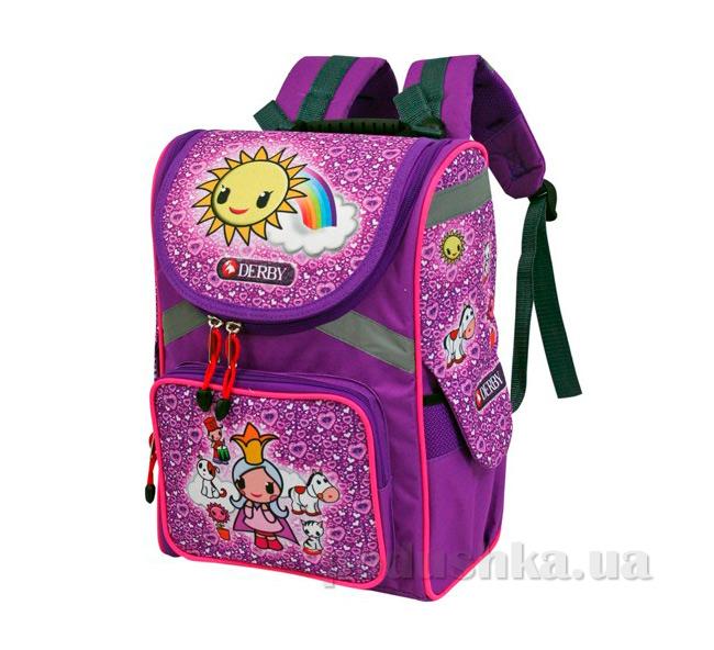 Школьный рюкзак Derby 0100377 с ортопедической спинкой