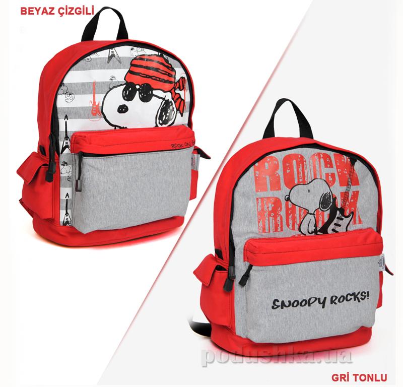 Школьный рюкзак Snoopy Rocks 32502