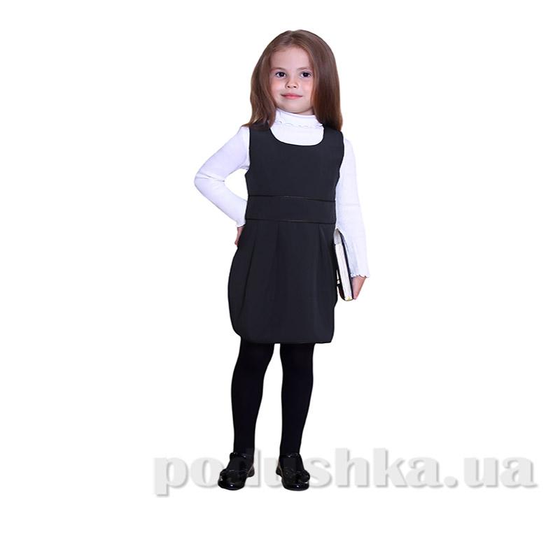 Школьный сарафан для девочки Purpurino 232201 черный