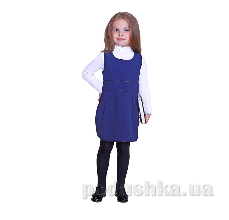 Школьный сарафан для девочки Purpurino 232202 синий