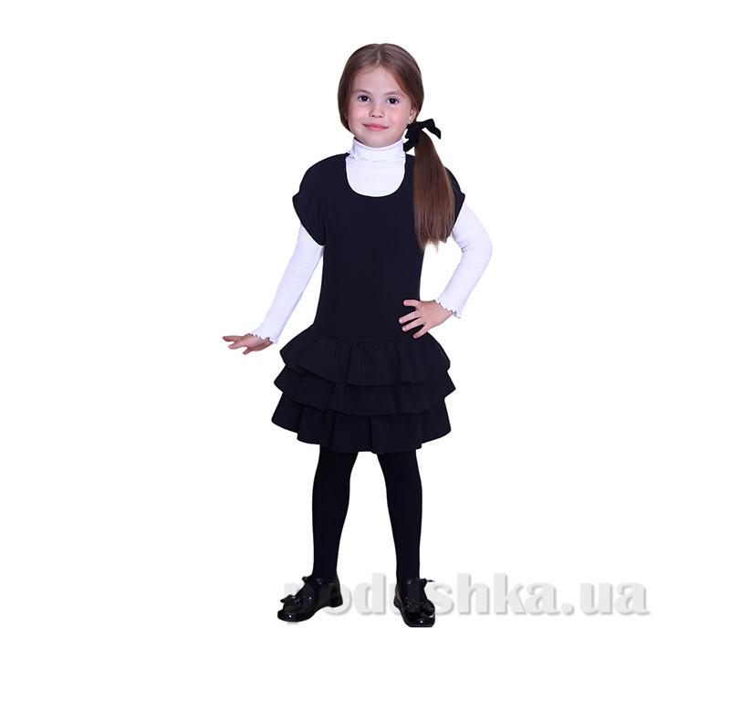 Школьный сарафан для девочки Purpurino 235201 черный