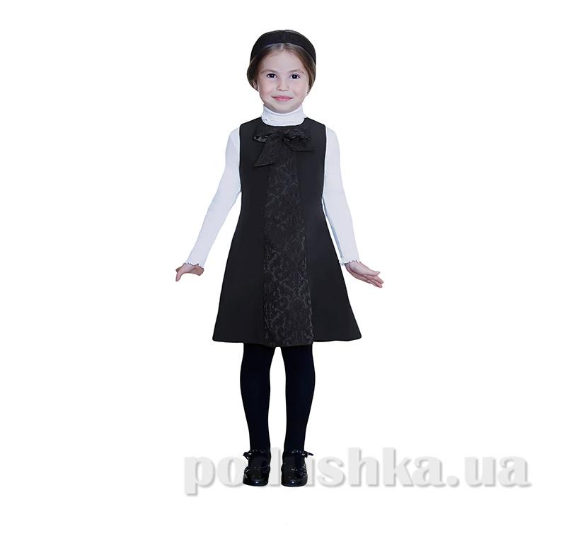 Школьный сарафан для девочки Purpurino 237213 черный