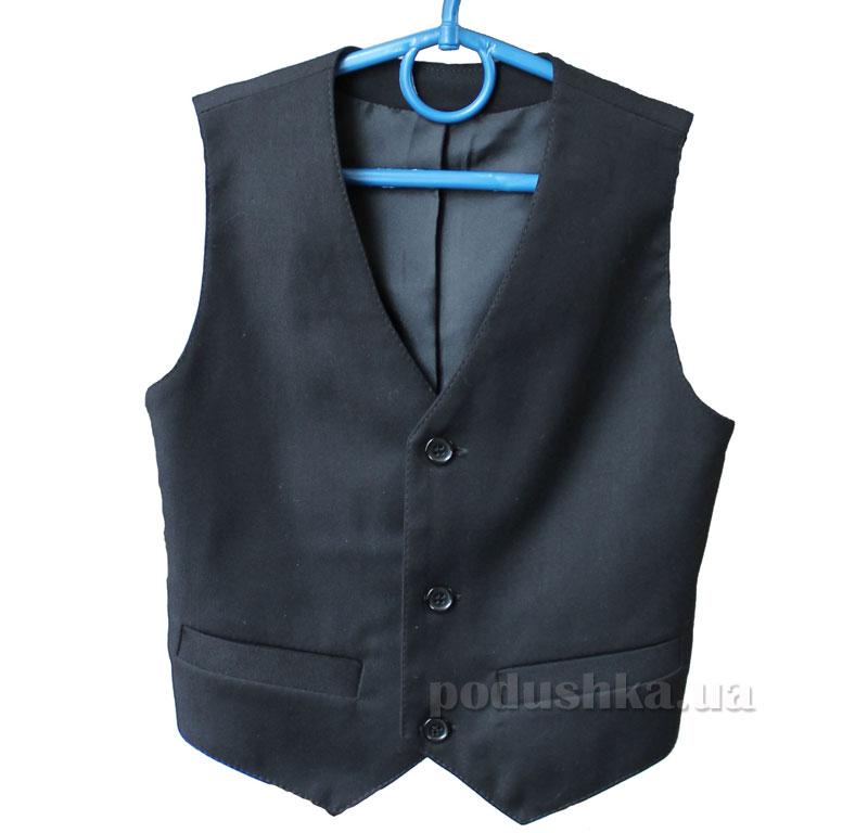 Школьный жилет Промiнь ВД-0940 черный