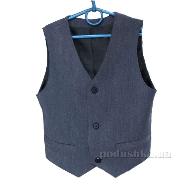 Школьный жилет Промiнь ВД-0940 синий