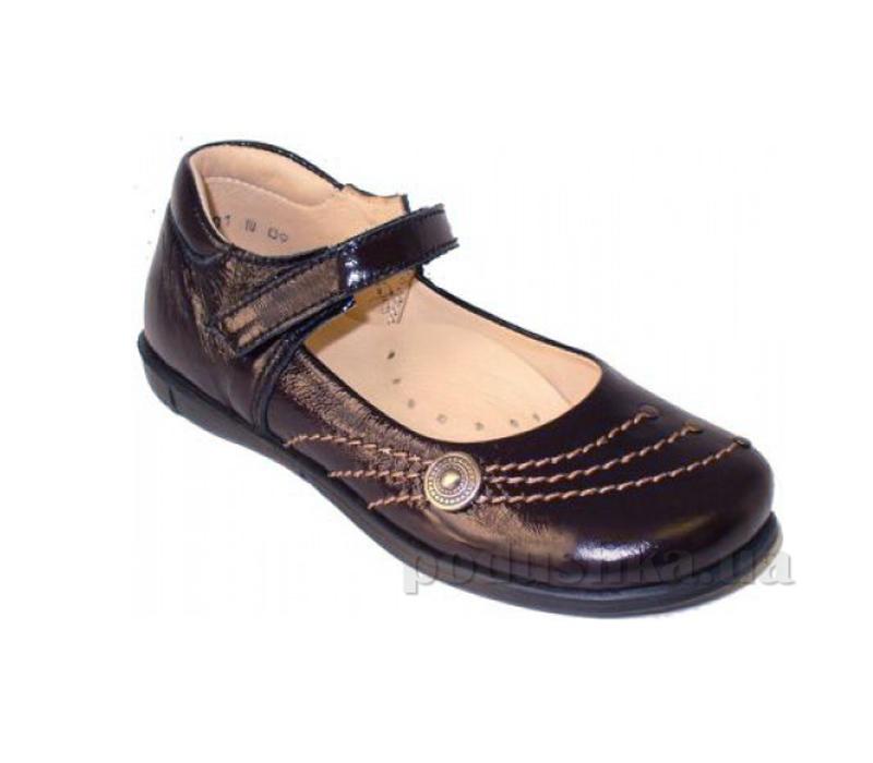Школьныйе туфли Берегиня 0601 черные