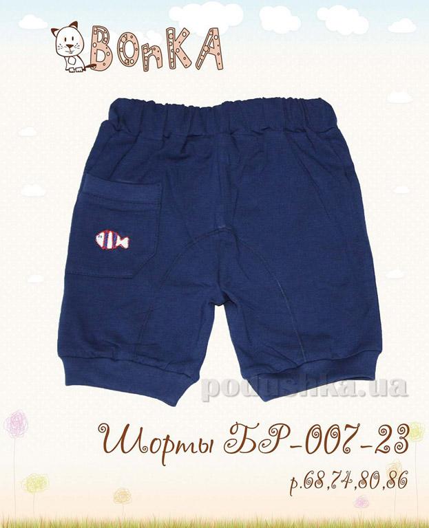 Шортики Bonka БР-007-23 синие