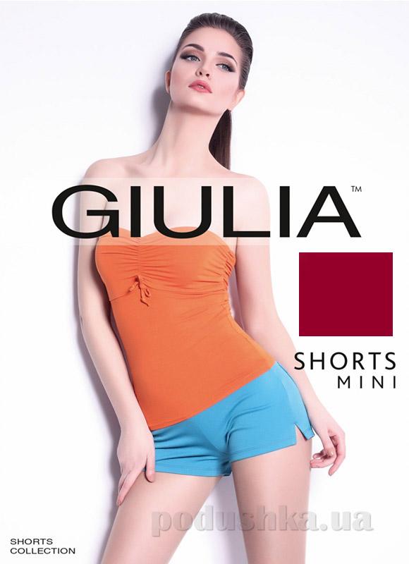 Шорты бордовые Short Mini Giulia bordo
