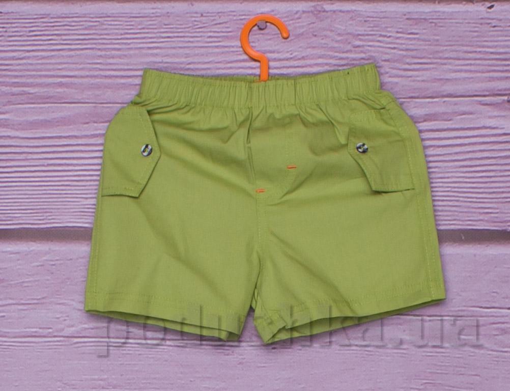 Шорты для мальчика Gloria Jeans 66585 оливковые
