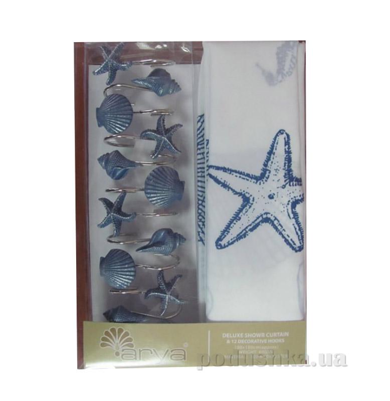 Шторка для ванной Arya Sea Star