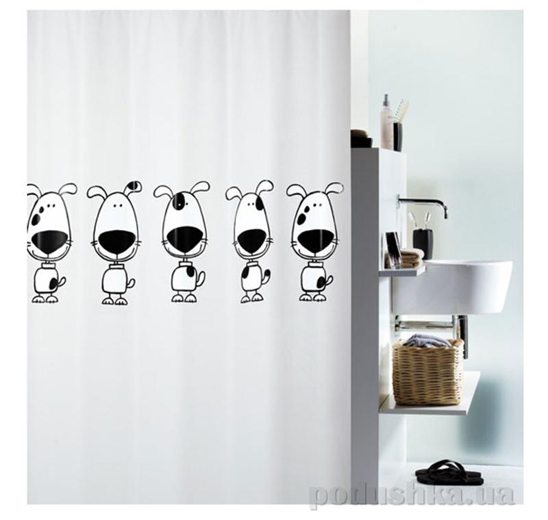 Шторка для ванной Spirella beagle peva